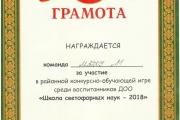 """Школа светофорных наук - 2018"""